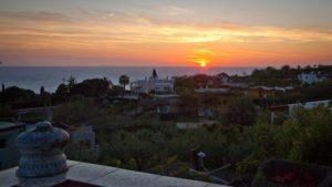 Sunset from Peppina di Renato