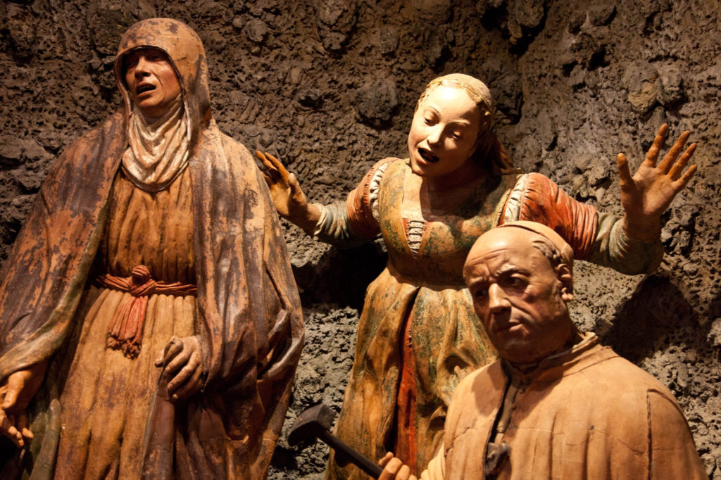 Terra cotta statues
