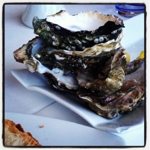 Oysters at Capriccio