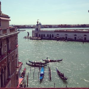 View of the Grand Canal from the Bauer