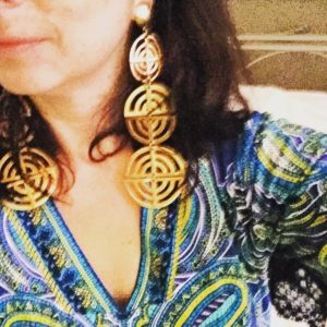 Another new discovery that did not disappoint was Rossi Selected Vintage where I found these earrings.