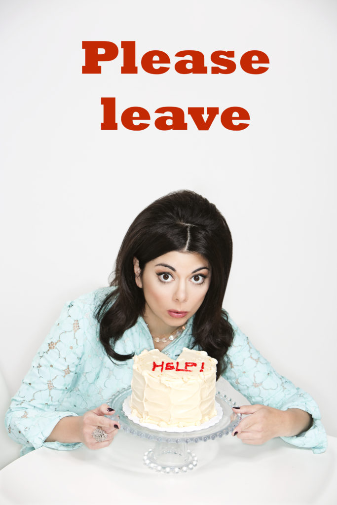 get people to leave