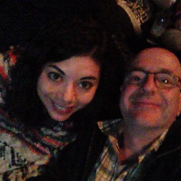 Sad Poncho & I in happier times.